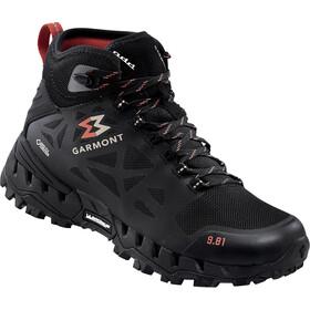 Garmont 9.81 N Air G 2.0 Mid GTX Shoes Women black/red